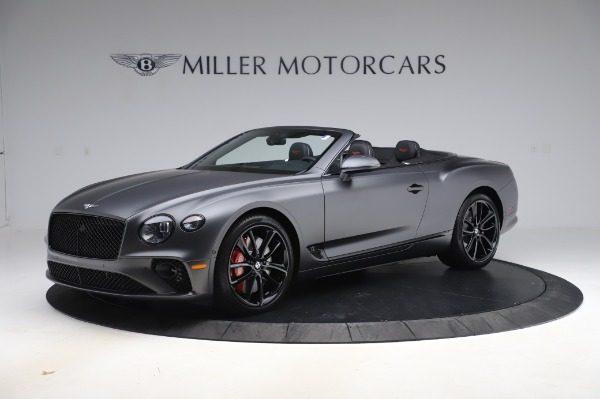New 2020 Bentley Continental GTC W12 for sale $329,600 at Maserati of Westport in Westport CT 06880 2