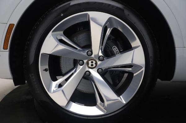 New 2020 Bentley Bentayga Hybrid for sale $220,475 at Maserati of Westport in Westport CT 06880 15