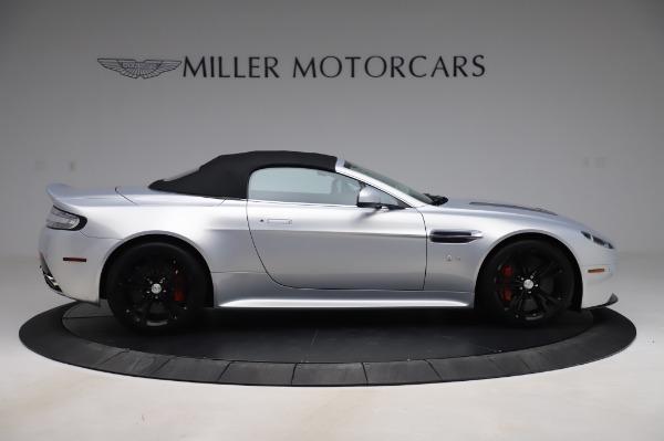 Used 2017 Aston Martin V12 Vantage S Roadster for sale Sold at Maserati of Westport in Westport CT 06880 17