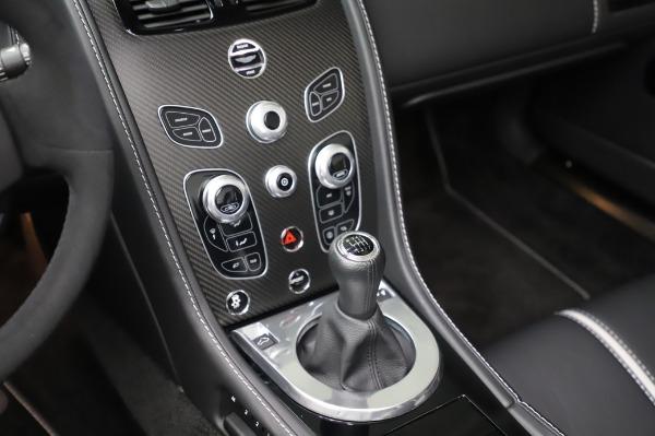 Used 2017 Aston Martin V12 Vantage S Roadster for sale Sold at Maserati of Westport in Westport CT 06880 24