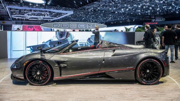 Used 2017 Pagani Huayra Roadster for sale Call for price at Maserati of Westport in Westport CT 06880 9