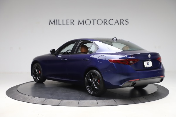 New 2020 Alfa Romeo Giulia Q4 for sale Call for price at Maserati of Westport in Westport CT 06880 4
