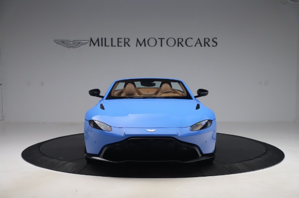 New 2021 Aston Martin Vantage Roadster for sale Call for price at Maserati of Westport in Westport CT 06880 11