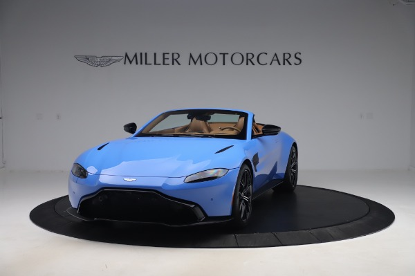 New 2021 Aston Martin Vantage Roadster for sale Call for price at Maserati of Westport in Westport CT 06880 12