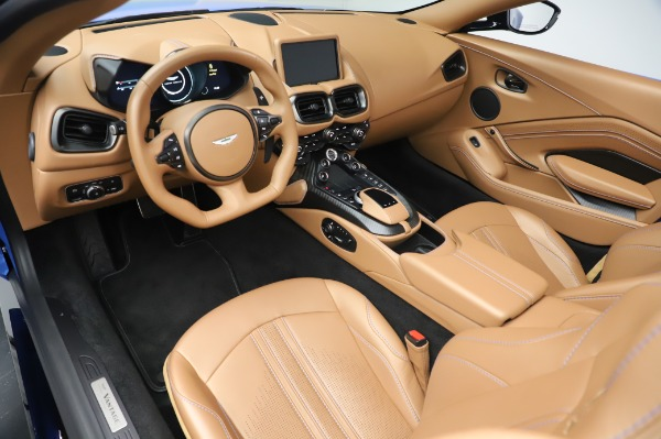 New 2021 Aston Martin Vantage Roadster for sale Call for price at Maserati of Westport in Westport CT 06880 13