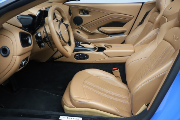 New 2021 Aston Martin Vantage Roadster for sale Call for price at Maserati of Westport in Westport CT 06880 14
