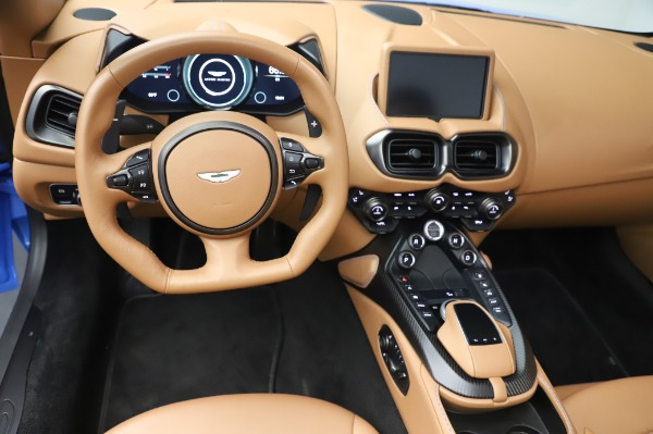 New 2021 Aston Martin Vantage Roadster for sale Call for price at Maserati of Westport in Westport CT 06880 17