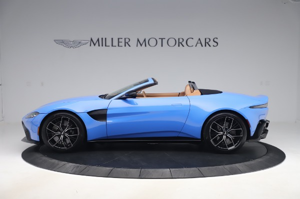New 2021 Aston Martin Vantage Roadster for sale Call for price at Maserati of Westport in Westport CT 06880 2