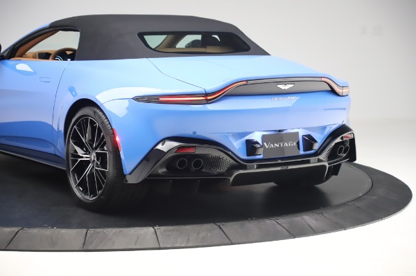 New 2021 Aston Martin Vantage Roadster for sale Call for price at Maserati of Westport in Westport CT 06880 25