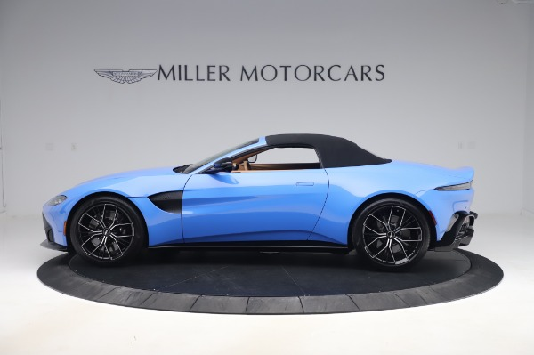 New 2021 Aston Martin Vantage Roadster for sale Call for price at Maserati of Westport in Westport CT 06880 27