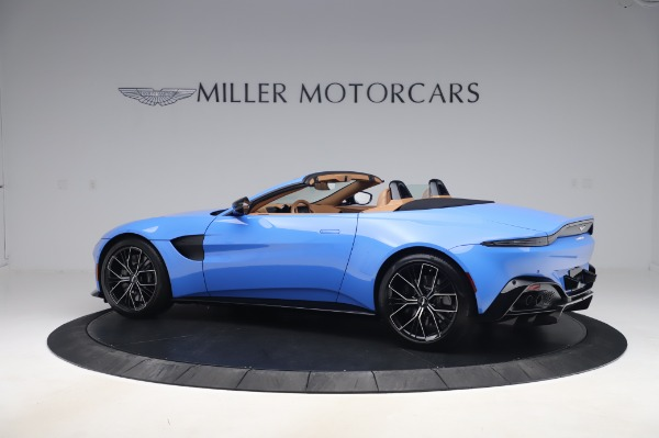 New 2021 Aston Martin Vantage Roadster for sale Call for price at Maserati of Westport in Westport CT 06880 3