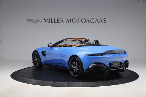 New 2021 Aston Martin Vantage Roadster for sale Call for price at Maserati of Westport in Westport CT 06880 4