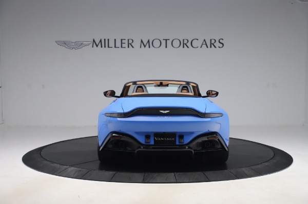 New 2021 Aston Martin Vantage Roadster for sale Call for price at Maserati of Westport in Westport CT 06880 5