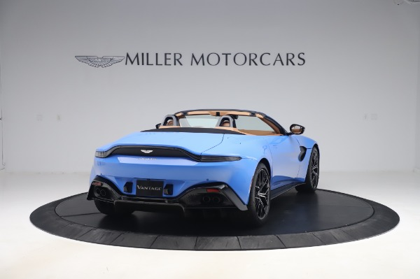 New 2021 Aston Martin Vantage Roadster for sale Call for price at Maserati of Westport in Westport CT 06880 6