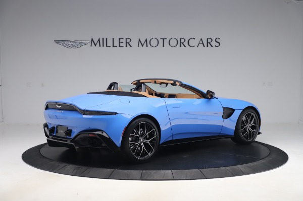 New 2021 Aston Martin Vantage Roadster for sale Call for price at Maserati of Westport in Westport CT 06880 7