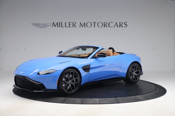New 2021 Aston Martin Vantage Roadster for sale Call for price at Maserati of Westport in Westport CT 06880 1
