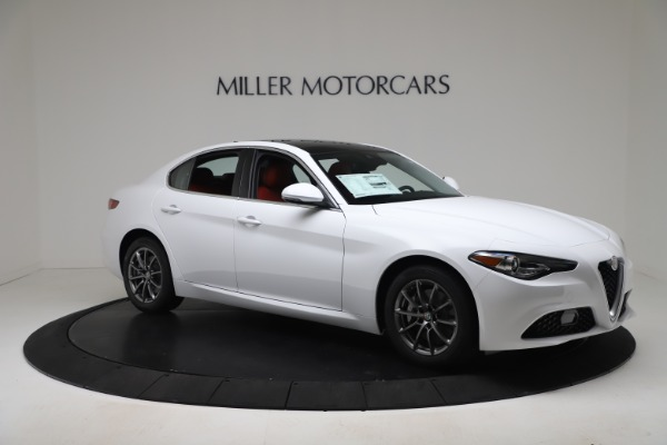 New 2020 Alfa Romeo Giulia Q4 for sale $44,845 at Maserati of Westport in Westport CT 06880 10