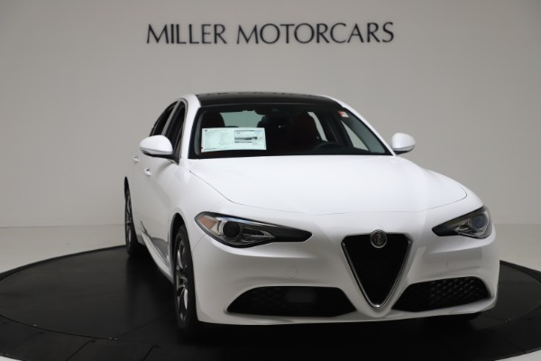 New 2020 Alfa Romeo Giulia Q4 for sale $44,845 at Maserati of Westport in Westport CT 06880 11