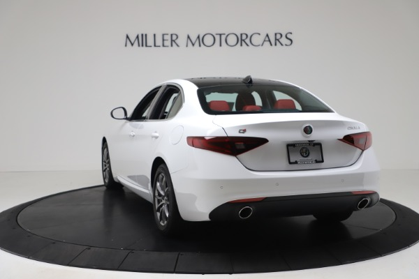 New 2020 Alfa Romeo Giulia Q4 for sale $44,845 at Maserati of Westport in Westport CT 06880 5