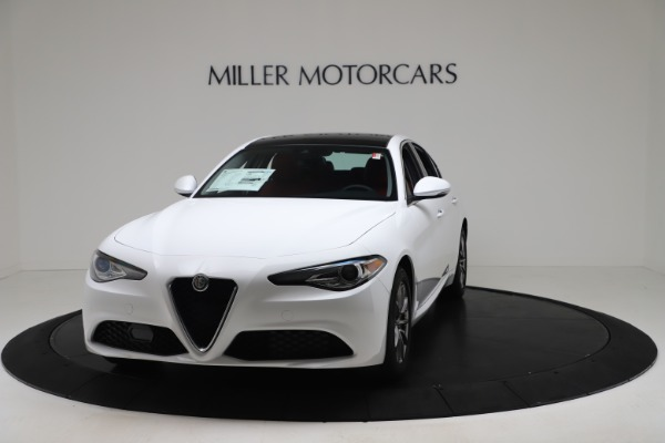 New 2020 Alfa Romeo Giulia Q4 for sale $44,845 at Maserati of Westport in Westport CT 06880 1