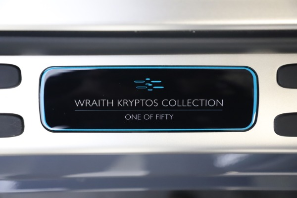 New 2021 Rolls-Royce Wraith KRYPTOS for sale $450,550 at Maserati of Westport in Westport CT 06880 26