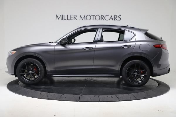 New 2020 Alfa Romeo Stelvio Ti Sport Q4 for sale Sold at Maserati of Westport in Westport CT 06880 3