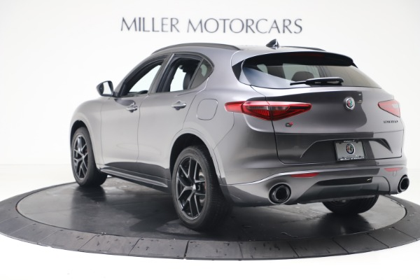 New 2020 Alfa Romeo Stelvio Ti Sport Q4 for sale Sold at Maserati of Westport in Westport CT 06880 5