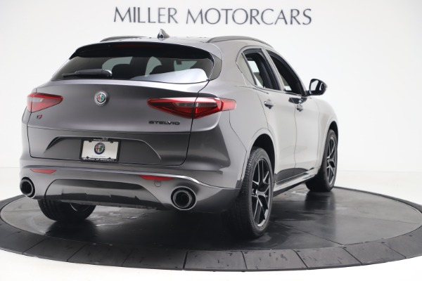 New 2020 Alfa Romeo Stelvio Ti Sport Q4 for sale Sold at Maserati of Westport in Westport CT 06880 7