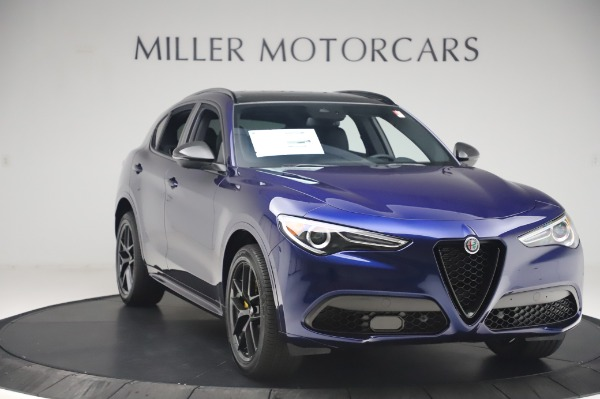 New 2020 Alfa Romeo Stelvio Ti Sport Q4 for sale Sold at Maserati of Westport in Westport CT 06880 11