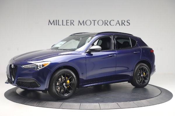 New 2020 Alfa Romeo Stelvio Ti Sport Q4 for sale Sold at Maserati of Westport in Westport CT 06880 2