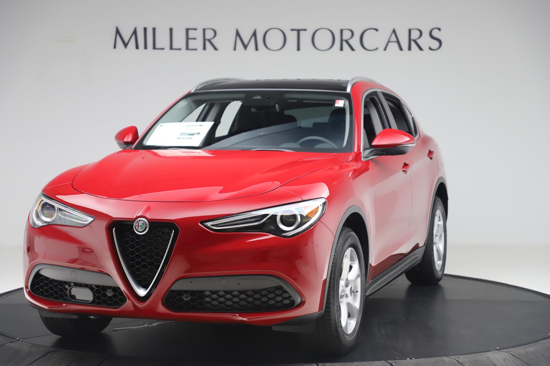 New 2020 Alfa Romeo Stelvio Q4 for sale $47,645 at Maserati of Westport in Westport CT 06880 1