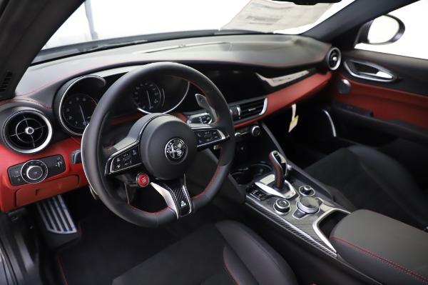 New 2020 Alfa Romeo Giulia Quadrifoglio for sale $82,445 at Maserati of Westport in Westport CT 06880 13