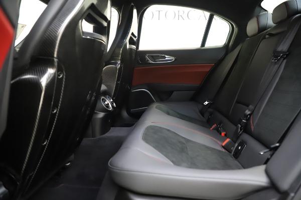 New 2020 Alfa Romeo Giulia Quadrifoglio for sale $87,445 at Maserati of Westport in Westport CT 06880 18