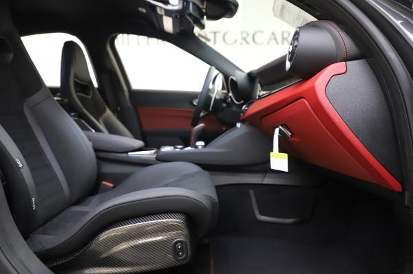 New 2020 Alfa Romeo Giulia Quadrifoglio for sale $87,445 at Maserati of Westport in Westport CT 06880 22