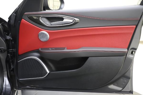 New 2020 Alfa Romeo Giulia Quadrifoglio for sale $87,445 at Maserati of Westport in Westport CT 06880 24