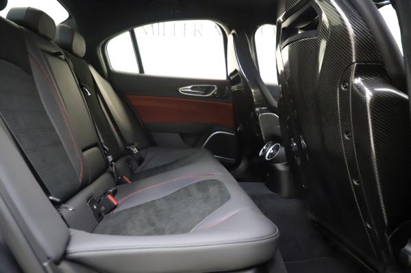 New 2020 Alfa Romeo Giulia Quadrifoglio for sale $82,445 at Maserati of Westport in Westport CT 06880 26