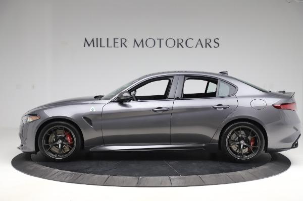 New 2020 Alfa Romeo Giulia Quadrifoglio for sale $82,445 at Maserati of Westport in Westport CT 06880 3