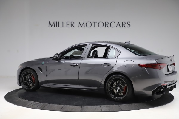 New 2020 Alfa Romeo Giulia Quadrifoglio for sale $87,445 at Maserati of Westport in Westport CT 06880 4