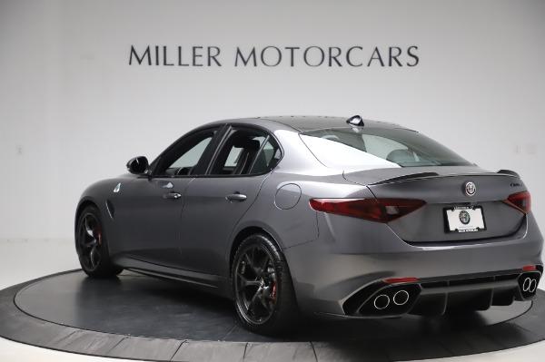 New 2020 Alfa Romeo Giulia Quadrifoglio for sale $87,445 at Maserati of Westport in Westport CT 06880 5