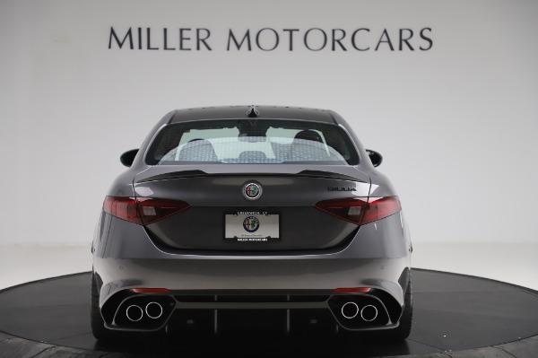 New 2020 Alfa Romeo Giulia Quadrifoglio for sale $82,445 at Maserati of Westport in Westport CT 06880 6