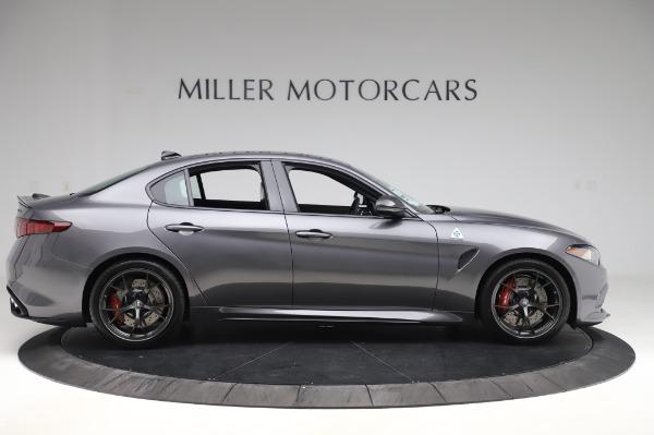 New 2020 Alfa Romeo Giulia Quadrifoglio for sale $82,445 at Maserati of Westport in Westport CT 06880 9