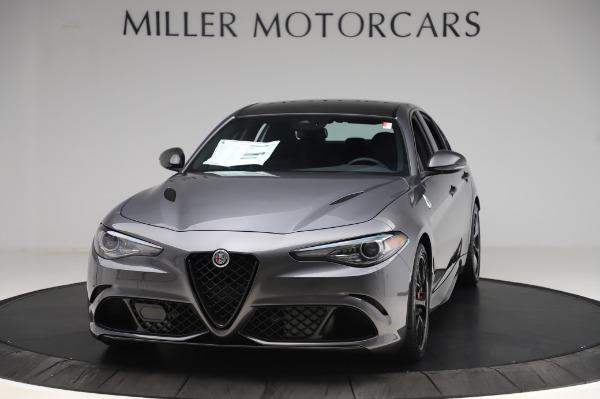 New 2020 Alfa Romeo Giulia Quadrifoglio for sale $87,445 at Maserati of Westport in Westport CT 06880 1