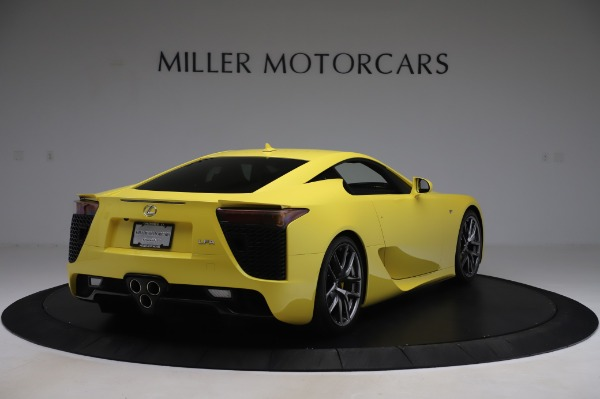 Used 2012 Lexus LFA for sale $509,900 at Maserati of Westport in Westport CT 06880 7