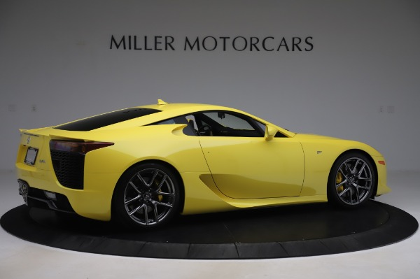 Used 2012 Lexus LFA for sale $509,900 at Maserati of Westport in Westport CT 06880 8