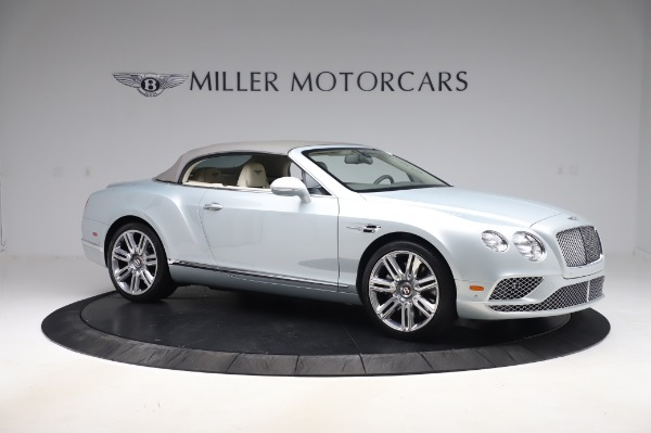 Used 2017 Bentley Continental GTC V8 for sale $156,900 at Maserati of Westport in Westport CT 06880 18