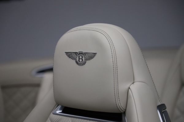Used 2017 Bentley Continental GTC V8 for sale $156,900 at Maserati of Westport in Westport CT 06880 22