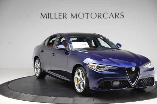 New 2020 Alfa Romeo Giulia Ti Sport Q4 for sale Sold at Maserati of Westport in Westport CT 06880 11