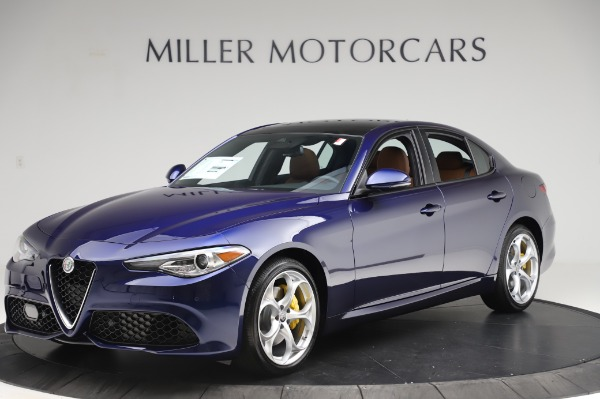 New 2020 Alfa Romeo Giulia Ti Sport Q4 for sale Sold at Maserati of Westport in Westport CT 06880 2