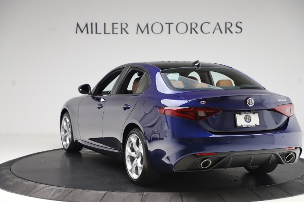 New 2020 Alfa Romeo Giulia Ti Sport Q4 for sale Sold at Maserati of Westport in Westport CT 06880 5