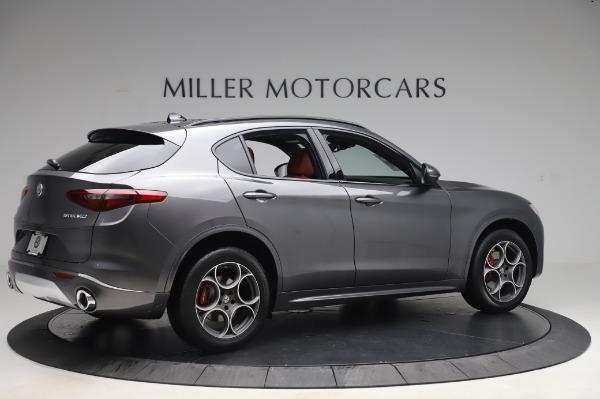 New 2020 Alfa Romeo Stelvio Sport Q4 for sale Sold at Maserati of Westport in Westport CT 06880 8